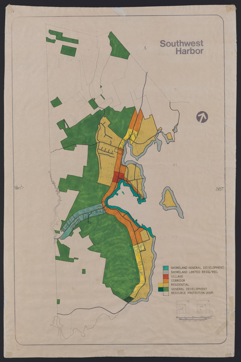 Southwest Harbor Land Use Map