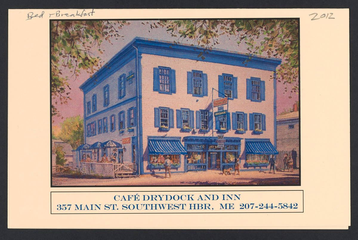 Cafe Drydock and Inn Brochure, 2012
