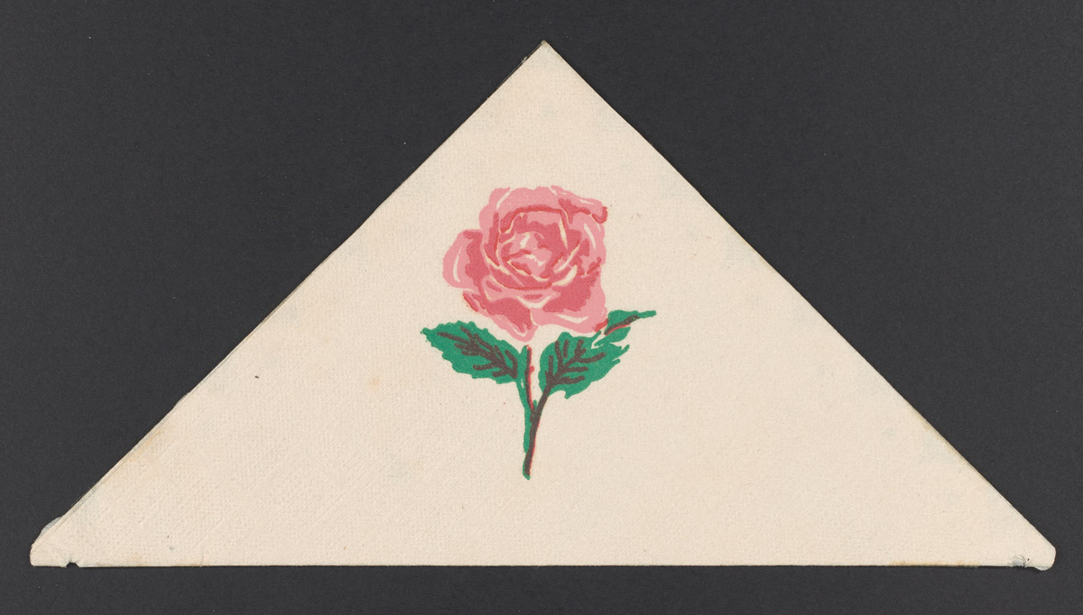 The Beals Rose Napkin, January 14, 1949