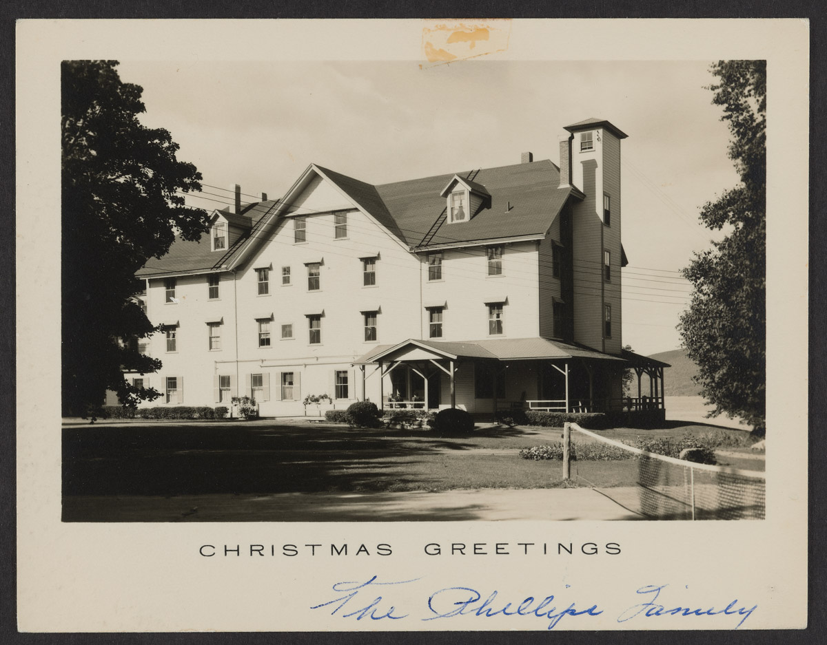 Phillips Family Claremont Hotel Christmas Card