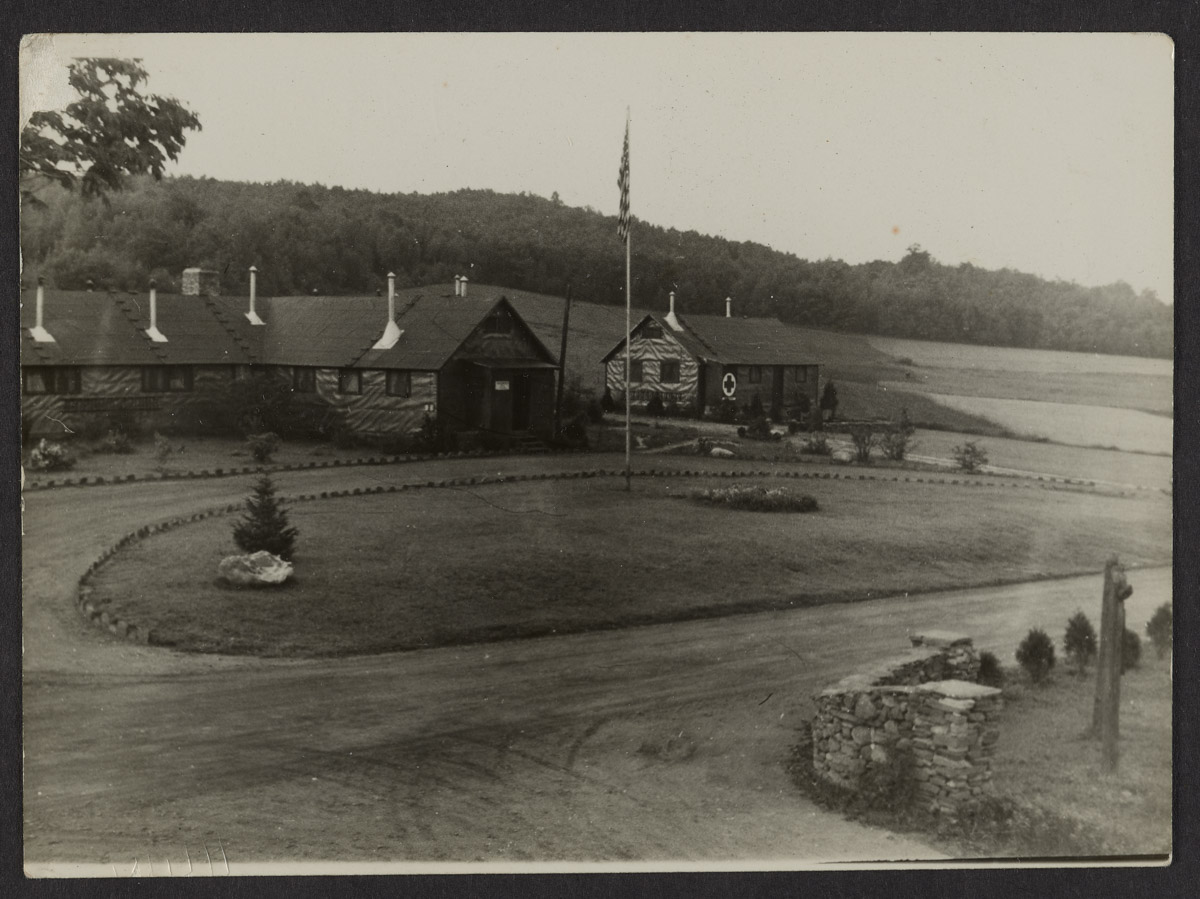 Southwest Harbor CCC Camp Photograph, 1938