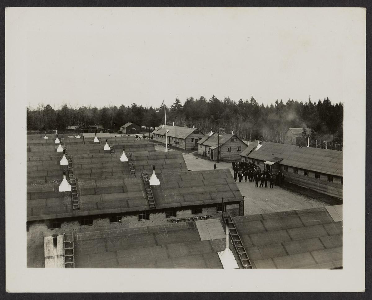 Southwest Harbor CCC Camp Buildings Photograph, c. 1933-1942