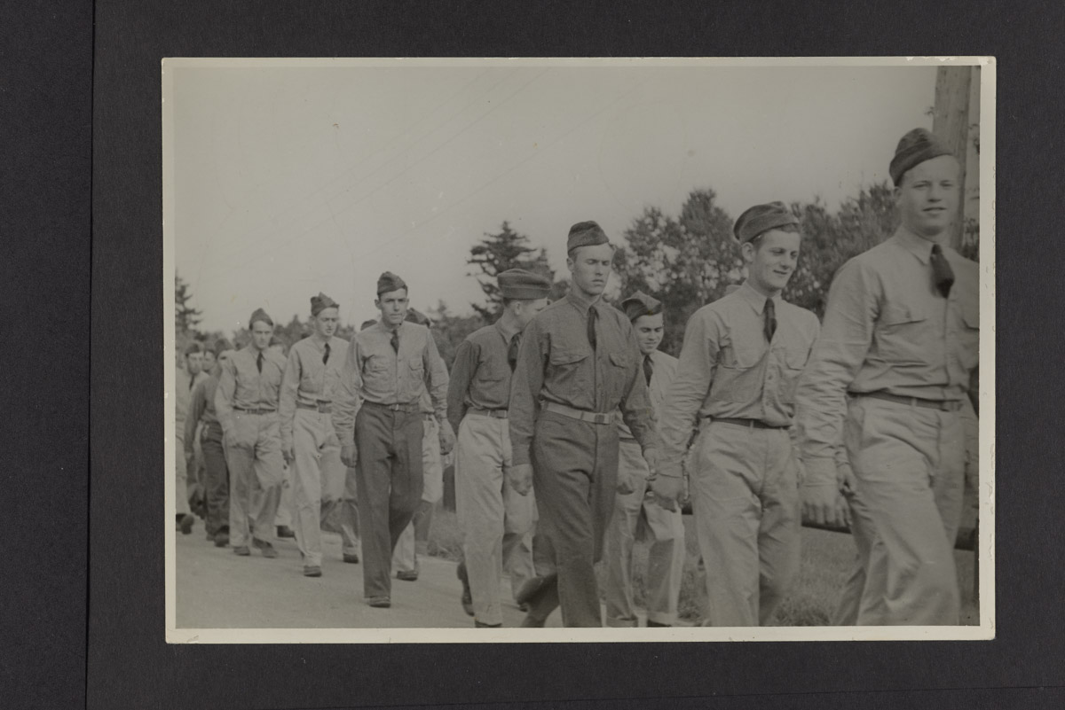 CCC Men Walking Photograph, c. 1933-1942