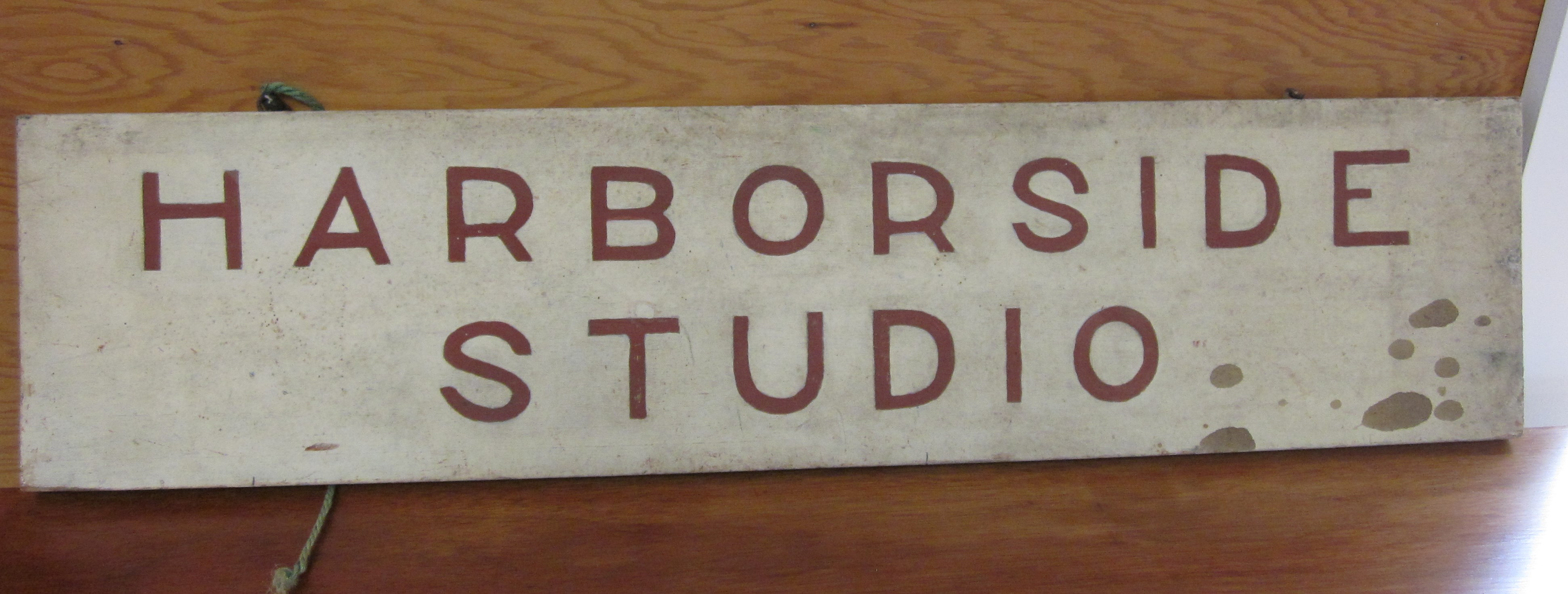 Harborside Studio Sign